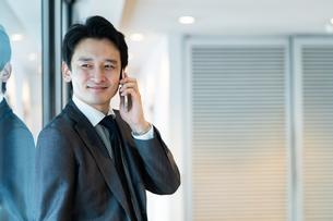 日本人ビジネスマンの写真素材 [FYI04687701]