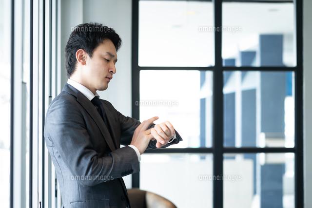日本人ビジネスマンの写真素材 [FYI04687755]