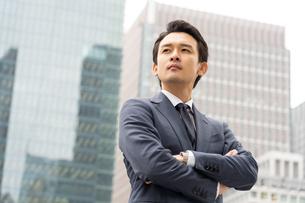 日本人ビジネスマンの写真素材 [FYI04687869]