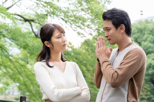 日本人夫婦の写真素材 [FYI04687897]