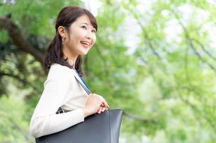 日本人ビジネスウーマンの写真素材 [FYI04687907]
