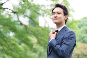 日本人ビジネスマンの写真素材 [FYI04687917]