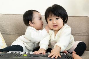 赤ちゃんの写真素材 [FYI04688013]