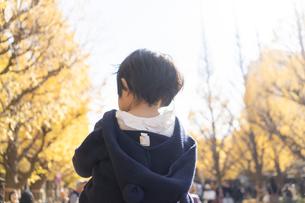 日本人親子の写真素材 [FYI04688090]