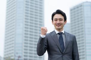 日本人ビジネスマンの写真素材 [FYI04688093]