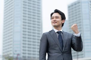 日本人ビジネスマンの写真素材 [FYI04688099]