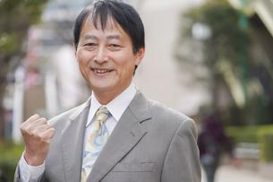 日本人シニアビジネスマンの写真素材 [FYI04688403]