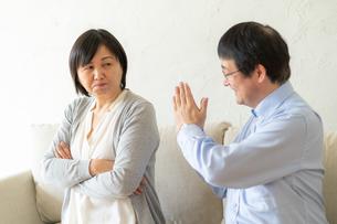日本人シニア夫婦の写真素材 [FYI04688919]
