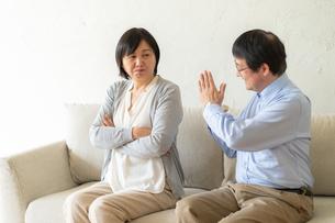 日本人シニア夫婦の写真素材 [FYI04688920]