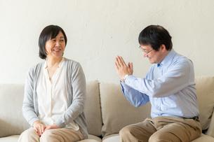 日本人シニア夫婦の写真素材 [FYI04688922]