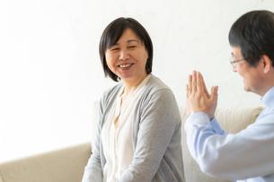 日本人シニア夫婦の写真素材 [FYI04688924]