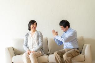 日本人シニア夫婦の写真素材 [FYI04688925]