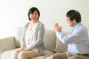 日本人シニア夫婦の写真素材 [FYI04688926]