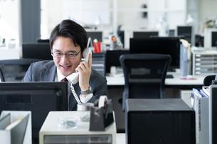 日本人ビジネスマンの写真素材 [FYI04689288]