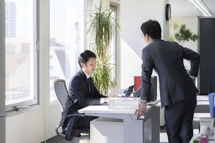 日本人ビジネスマンの写真素材 [FYI04689313]