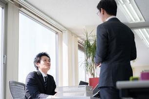 日本人ビジネスマンの写真素材 [FYI04689315]