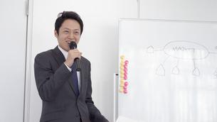 日本人ビジネスマンの写真素材 [FYI04691948]