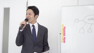 日本人ビジネスマンの写真素材 [FYI04691954]