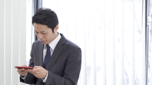 日本人ビジネスマンの写真素材 [FYI04692000]