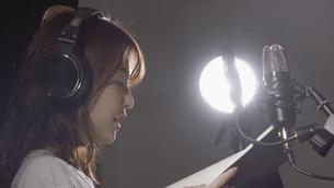 女性ボーカルの写真素材 [FYI04692219]