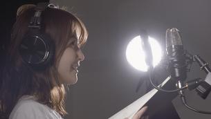 女性ボーカルの写真素材 [FYI04692223]
