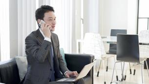 日本人ビジネスマンの写真素材 [FYI04693085]
