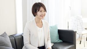 日本人ビジネスウーマンの写真素材 [FYI04693102]