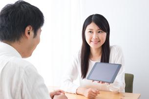 日本人夫婦の写真素材 [FYI04693488]