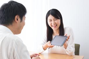 日本人夫婦の写真素材 [FYI04693491]