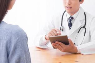 男性医師と患者の写真素材 [FYI04693552]