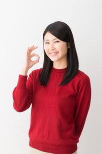 日本人女性の写真素材 [FYI04694716]
