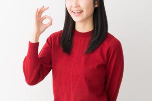 日本人女性の写真素材 [FYI04694718]