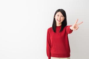 日本人女性の写真素材 [FYI04694734]