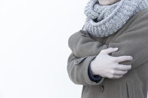 冬服姿の男性の写真素材 [FYI04696715]
