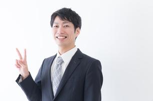 日本人ビジネスマンの写真素材 [FYI04697452]