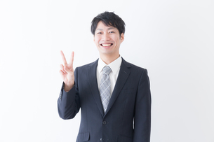 日本人ビジネスマンの写真素材 [FYI04697457]