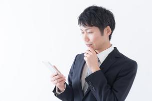 日本人ビジネスマンの写真素材 [FYI04697529]