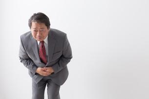 日本人シニアビジネスマンの写真素材 [FYI04698442]