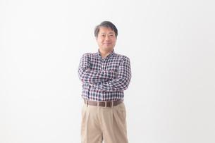 日本人シニア男性の写真素材 [FYI04699034]