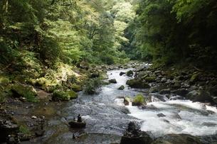 高千穂の風景 天安河原の写真素材 [FYI04700178]