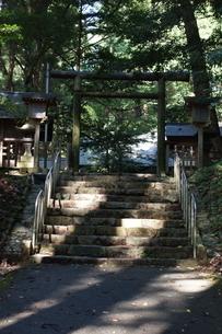 高千穂の風景 天岩戸神社 東本宮の写真素材 [FYI04700394]