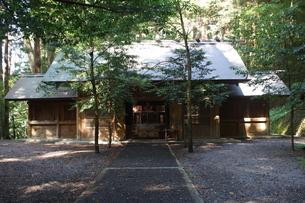 高千穂の風景 天岩戸神社 東本宮の写真素材 [FYI04700423]
