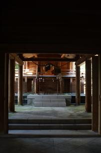 高千穂の風景 天岩戸神社 東本宮の写真素材 [FYI04700435]