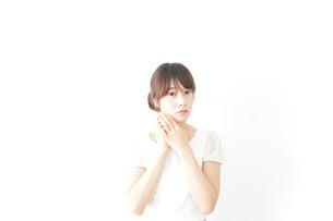 若い女性ビューティーイメージの写真素材 [FYI04700503]
