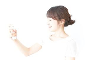 若い女性ビューティーイメージの写真素材 [FYI04700524]