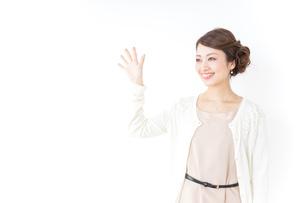 再会する女性の写真素材 [FYI04701448]