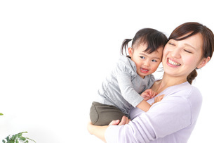 お母さんと子どもの写真素材 [FYI04701929]
