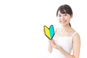美容・初心者イメージの写真素材 [FYI04702014]