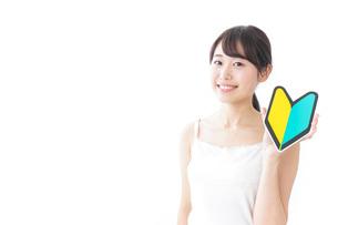 美容・初心者イメージの写真素材 [FYI04702019]