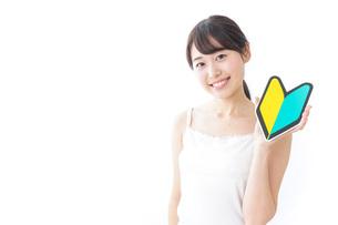 美容・初心者イメージの写真素材 [FYI04702020]